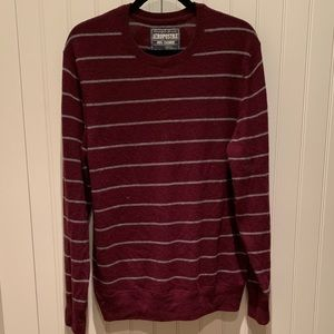 100% Cashmere Striped Sweater! Excellent condition